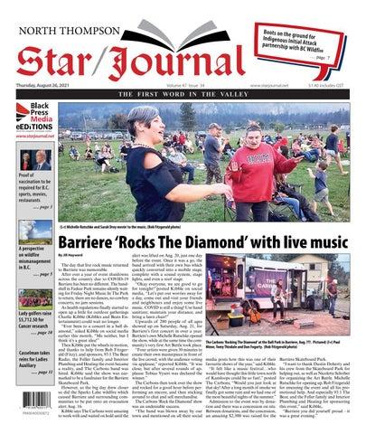 Barriere Star Journal, August 26, 2021