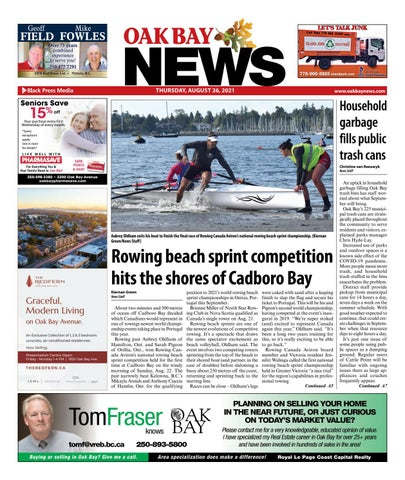 Oak Bay News, August 26, 2021
