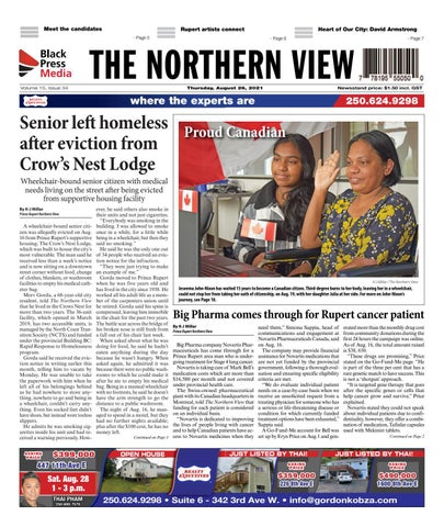 The Northern View/Northern Connector, August 26, 2021