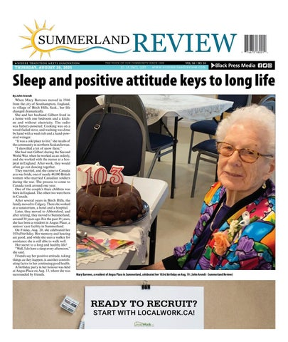 Summerland Review, August 26, 2021