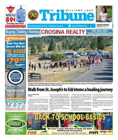 Williams Lake Tribune, August 26, 2021