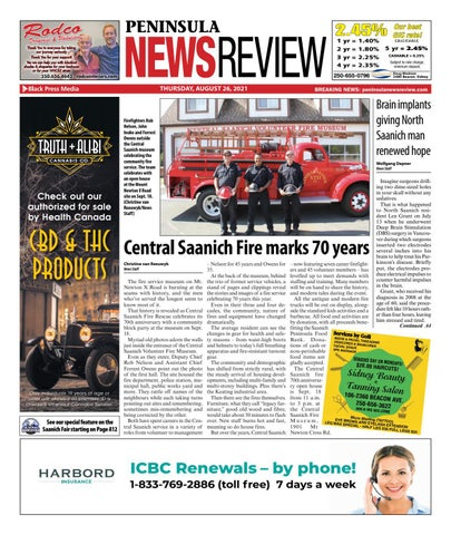 Peninsula News Review, August 26, 2021