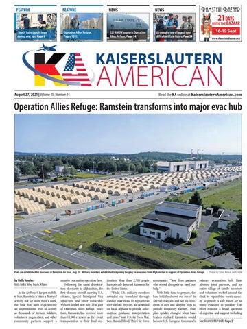 Kaiserslautern American - August 27, 2021