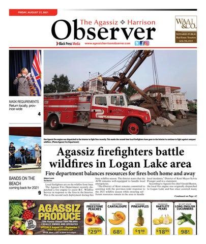 Agassiz Observer, August 27, 2021