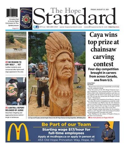 Hope Standard, August 27, 2021