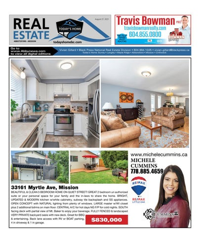 August 27, 2021 Real Estate Weekly - Abbotsford