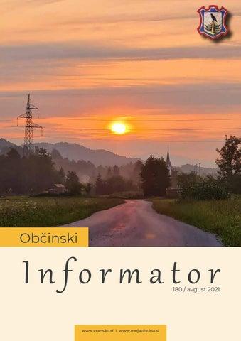 OBČINSKI INFORMATOR 180