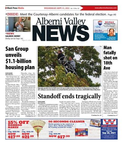 Alberni Valley News, September 1, 2021