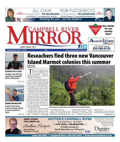 Campbell River Mirror, September 1, 2021
