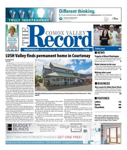 Comox Valley Record, September 1, 2021