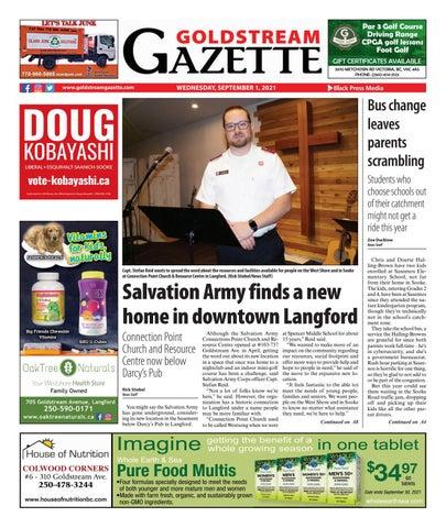 Goldstream News Gazette, September 1, 2021