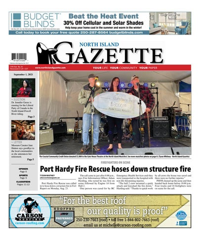 North Island Gazette, September 1, 2021