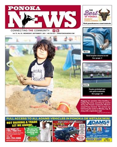 Ponoka News, September 1, 2021