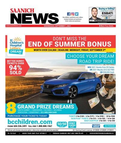 Saanich News, September 1, 2021