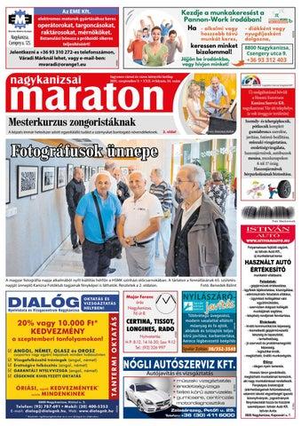 Nagykanizsai Maraton - 2021. 09. 03.