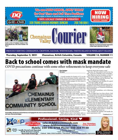 Chemainus Valley Courier, September 2, 2021
