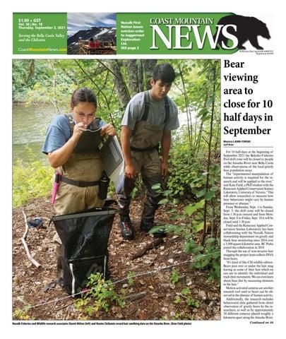 Coast Mountain News, September 2, 2021