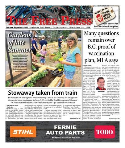 The Free Press, September 2, 2021