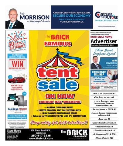 Cranbrook Daily Townsman, September 2, 2021