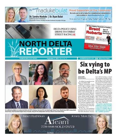 North Delta Reporter, September 2, 2021