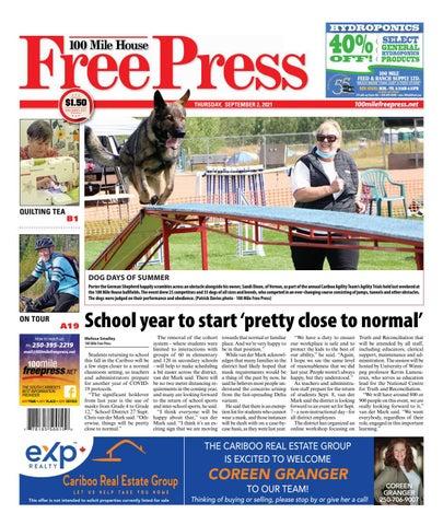 100 Mile House Free Press, September 2, 2021