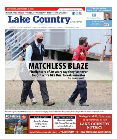 Lake Country Calendar, September 2, 2021