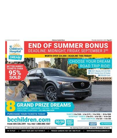 September 02, 2021 Kelowna Capital News
