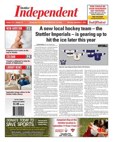 Stettler Independent, September 2, 2021