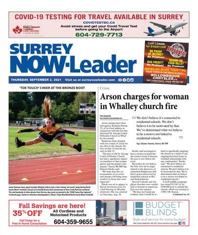 Surrey Now Leader, September 2, 2021