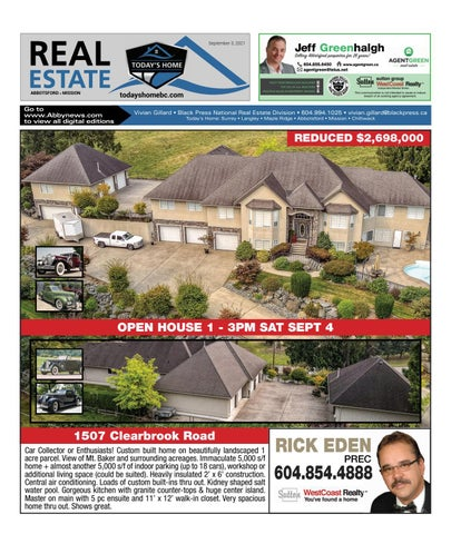 September 03, 2021 Real Estate Weekly - Abbotsford