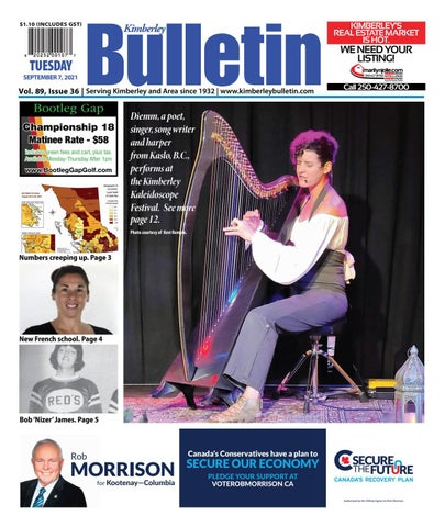 Kimberley Daily Bulletin, September 7, 2021