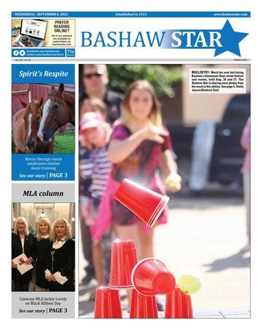 Bashaw Star, September 8, 2021