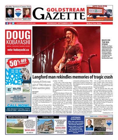 Goldstream News Gazette, September 8, 2021
