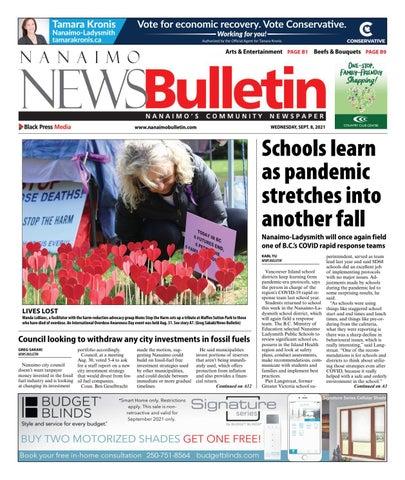 Nanaimo News Bulletin, September 8, 2021