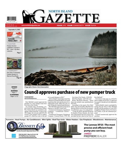 North Island Gazette, September 8, 2021
