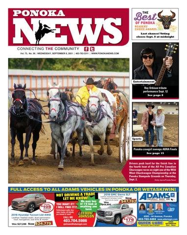 Ponoka News, September 8, 2021