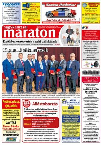 Nagykanizsai Maraton - 2021. 09. 10.