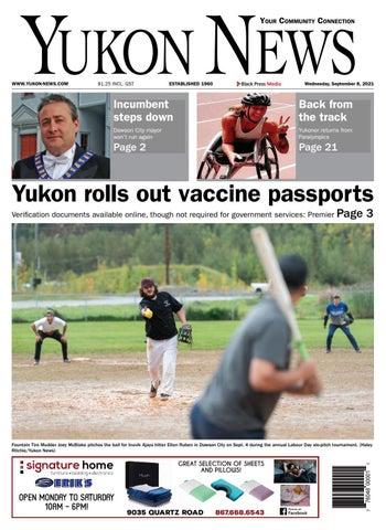 Yukon News, September 8, 2021