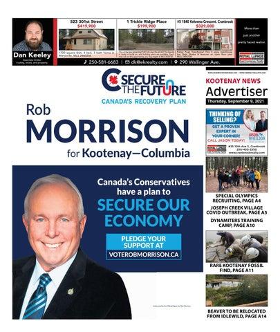 Cranbrook Daily Townsman, September 9, 2021
