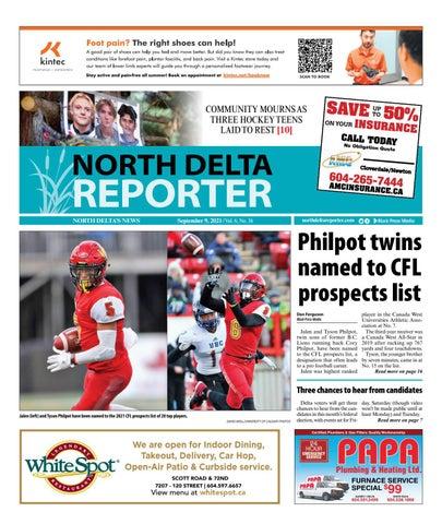 North Delta Reporter, September 9, 2021