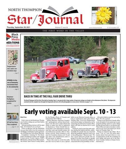 Barriere Star Journal, September 9, 2021