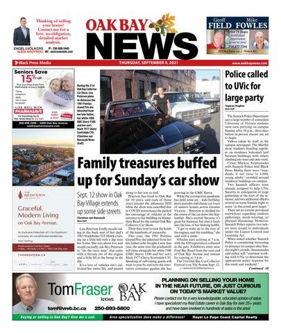Oak Bay News, September 9, 2021
