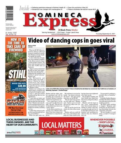 Vanderhoof Omineca Express/Stuart Nechako Advertiser, September 9, 2021