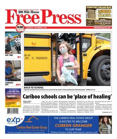 100 Mile House Free Press, September 9, 2021