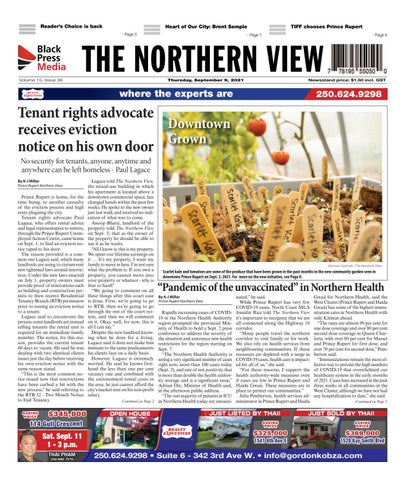 The Northern View/Northern Connector, September 9, 2021