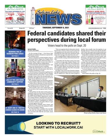 Sylvan Lake News, September 9, 2021