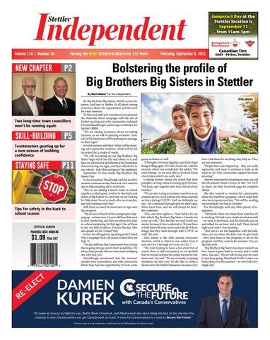 Stettler Independent, September 9, 2021