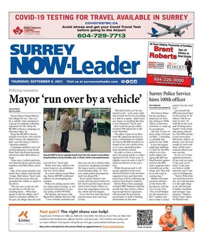 Surrey Now Leader, September 9, 2021