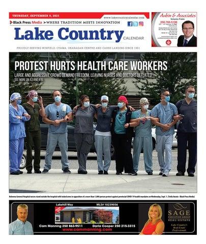 Lake Country Calendar, September 9, 2021