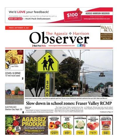 Agassiz Observer, September 10, 2021